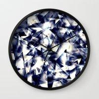 the shining Wall Clocks featuring Shining by llande