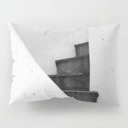 Black and White Stairs Pillow Sham