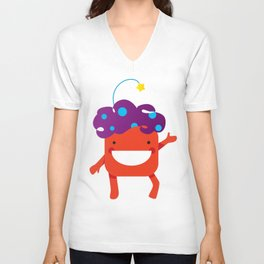 Colors of happiness Unisex V-Neck