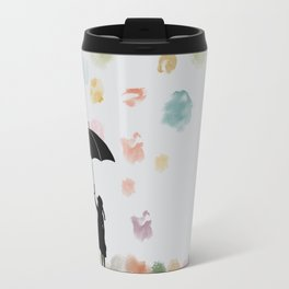 Colorful snow in Winter Travel Mug