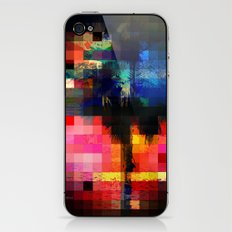 Colorful Tropical Collage Mosaic iPhone & iPod Skin