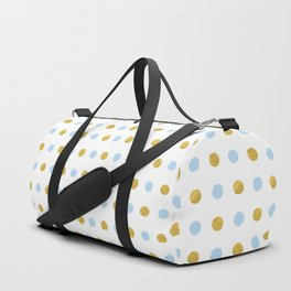 Dalmatian - Blue & Gold Foil #447 Duffle Bag