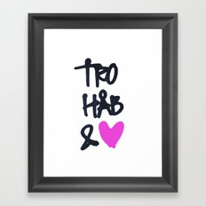 tro Framed Art Print