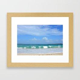 Big Waves After the Storm Framed Art Print