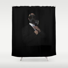 Apocalyptic Style Shower Curtain