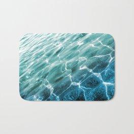 acqua azzurra acqua chiara Bath Mat