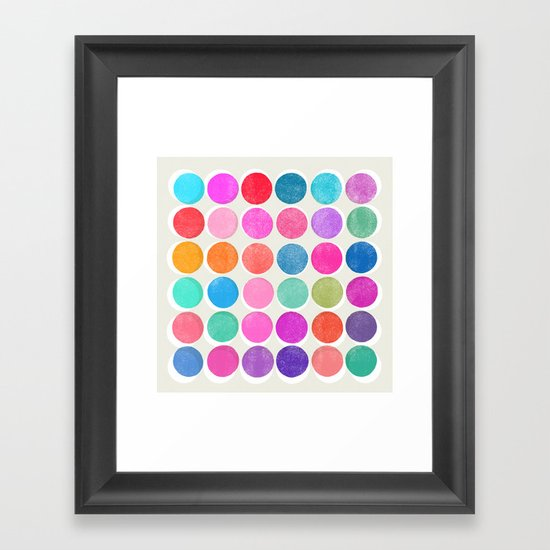 colorplay 7 Framed Art Print