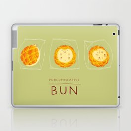 Porcupineapple Bun Laptop & iPad Skin