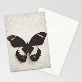 Papilio Aegus Butterfly Stationery Cards