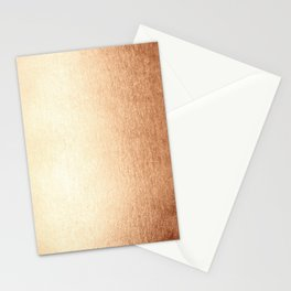 Simply Deep Bronze Amber Stationery Cards