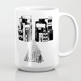 Dead Sound City (Black on White) Coffee Mug