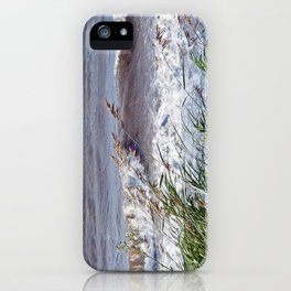 Waves Rolling up the Beach iPhone Case