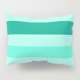 Winter Mint Candy - Color Therapy Pillow Sham