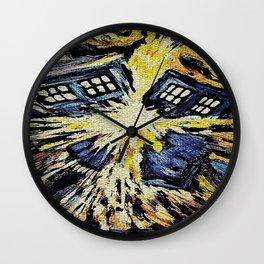 Tardis Explode Wall Clock