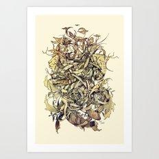 Water,Earth & Air   VACANCY zine   Art Print