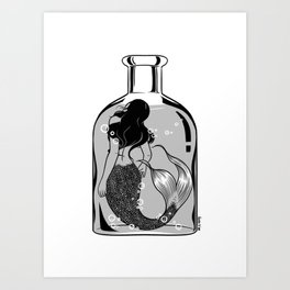 Wish I could be part of your world Art Print