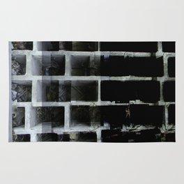 Abandoned wall xperiment xposure Rug