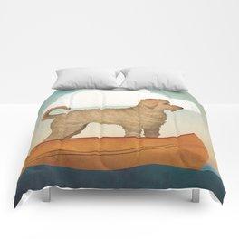 Doodle Goldendoodle Labradoodle Canoe Fowler Comforters