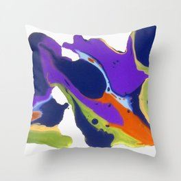Oops I Spewed My Wine & Cheese Throw Pillow