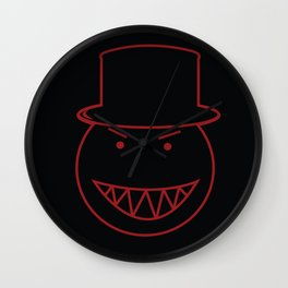 Top Hat Icon Wall Clock