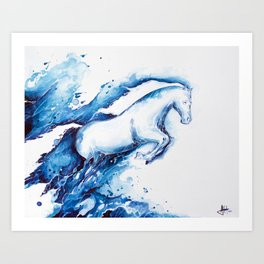 Ride the Lightning Art Print
