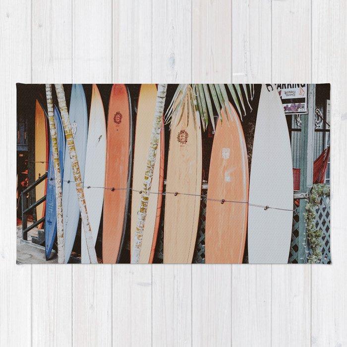 lets surf ii Rug