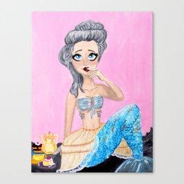 Pannier Mermaid Canvas Print