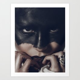 The Gaze Art Print