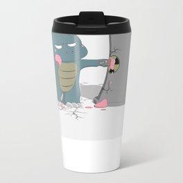 Godzelato! - Series 4: Yes gelato. No nukes. Metal Travel Mug