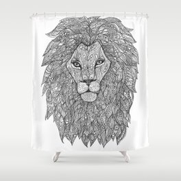 Brother Lion Shower Curtain
