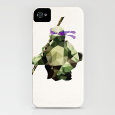 Polygon Heroes - Donatello iPhone (4, 4s) Slim Case