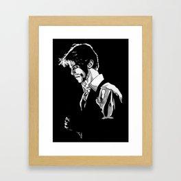Thin White Duke Framed Art Print