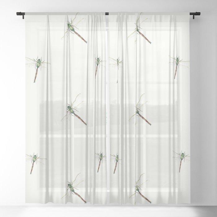Dragonfly Sheer Curtain
