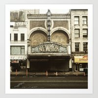 Paramount Theater, Newark Art Print