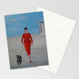 Who is Lady Mitzi Stationery Cards