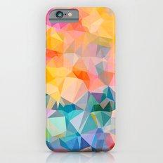 Polygons iPhone 6s Slim Case