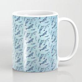 Pattern: Sea of Vaquita ~ (Watercolor Art, Copyright 2015) Coffee Mug