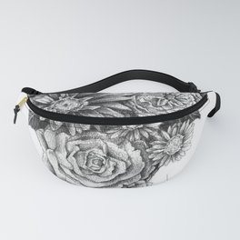 Flower Pizza Fanny Pack