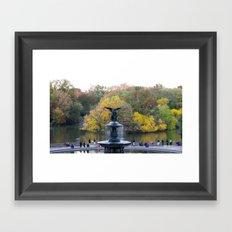 Central Park Fall Series 9 Framed Art Print