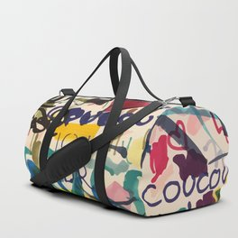 Urban Graffiti Paper Street Art Duffle Bag