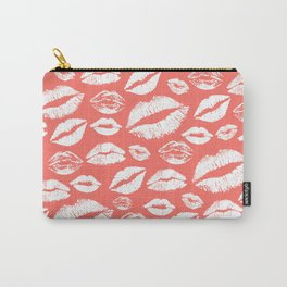 Lip 24 Living Coral Carry-All Pouch