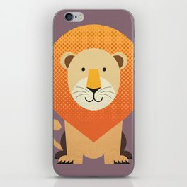 Whimsy Lion iPhone Skin
