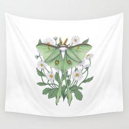 Metamorphosis - Luna Moth Wall Tapestry