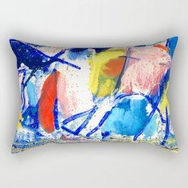 Polka Dot Rectangular Pillow
