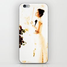 THE WOMAN WHO DOES NOT LISTEN TO THE LIES OF HER TIME iPhone & iPod Skin