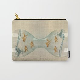 Hour Glass Goldfish Carry-All Pouch