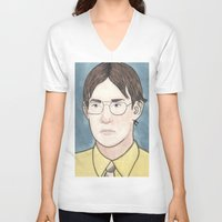 battlestar galactica V-neck T-shirts featuring Bears. Beets. Battlestar Galactica.   by Jillinois