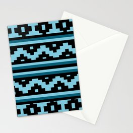 Etnico blue version Stationery Cards