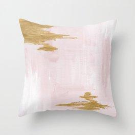 Blush Beauty Throw Pillow
