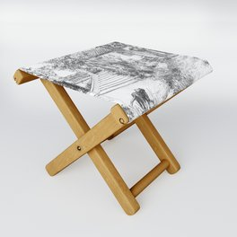 St Tropez house Folding Stool